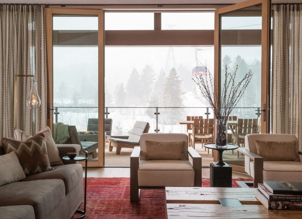 Valles Suite - View of Ski Lift from Living Room