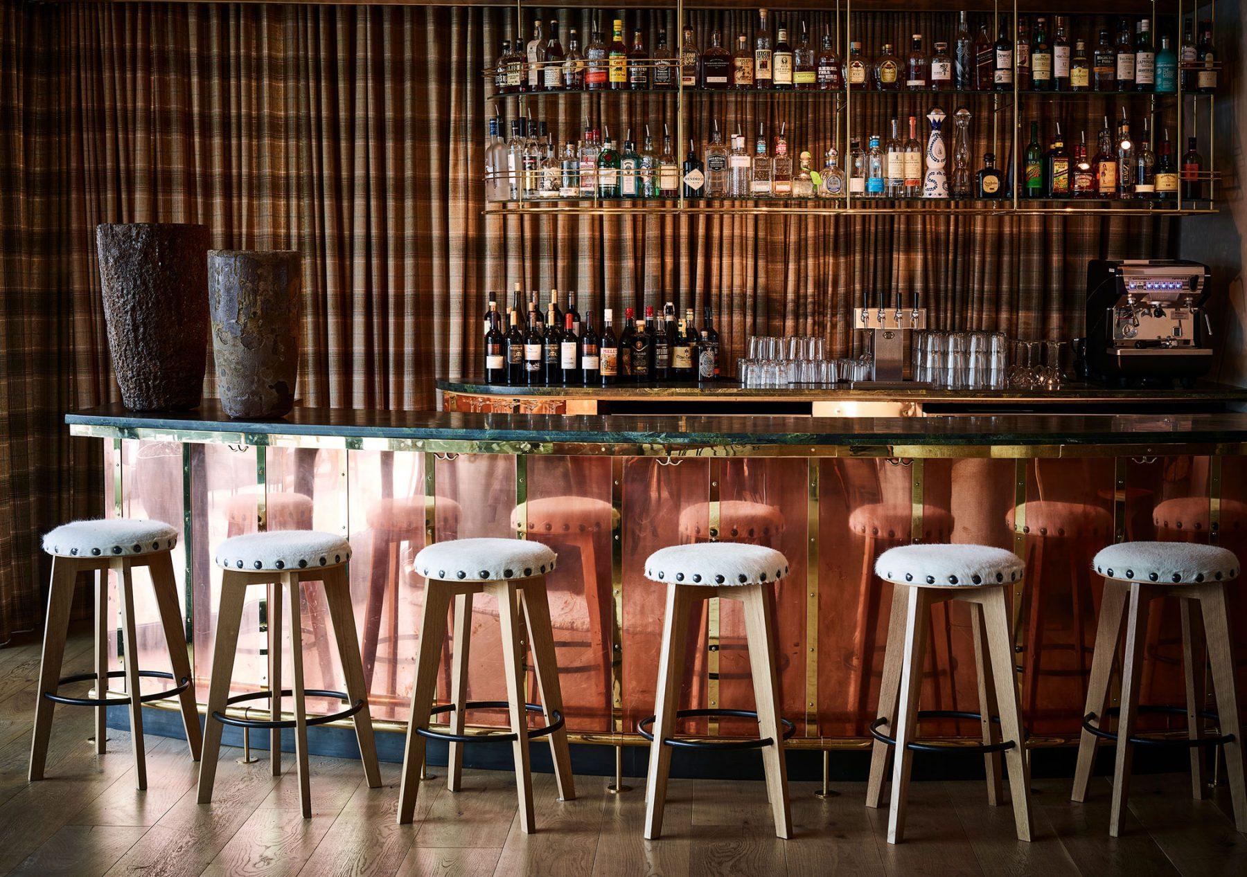 onsite bar at caldera house