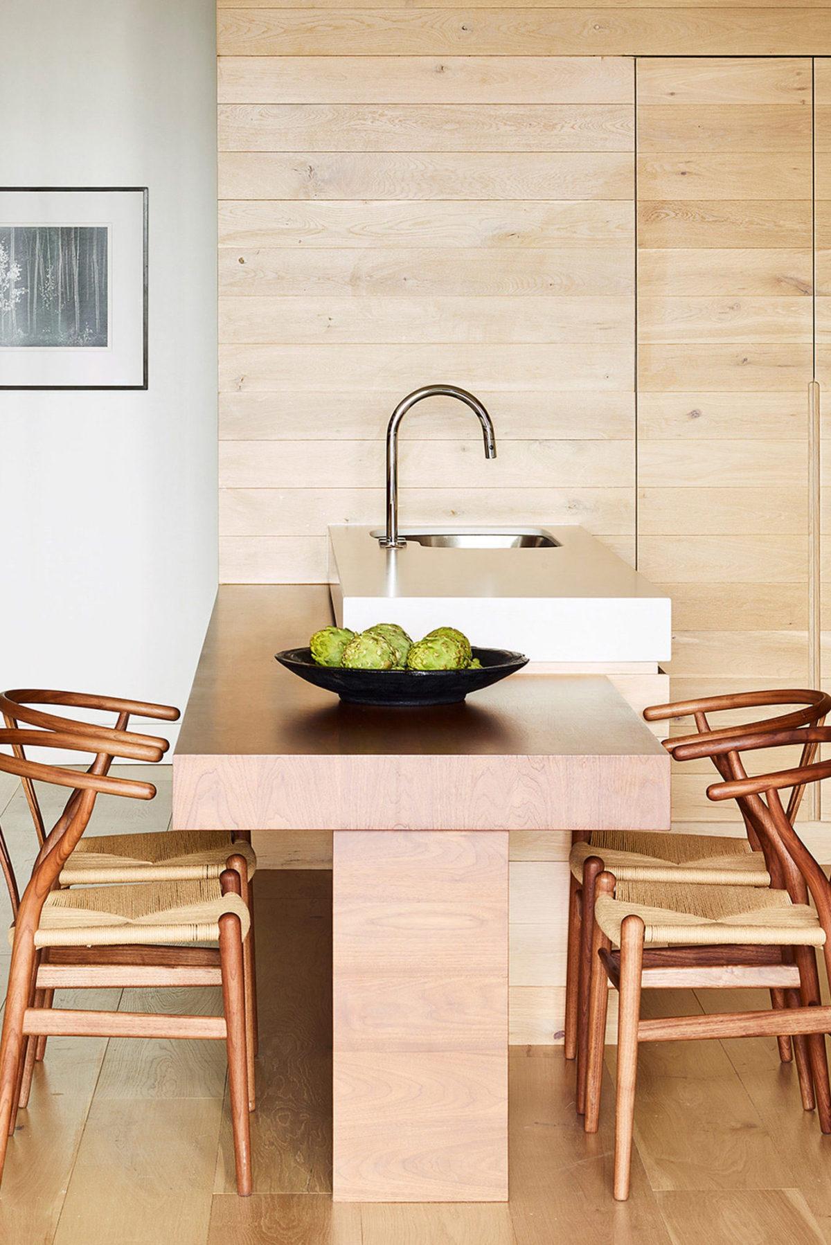 Kari Kari suite - kitchen island