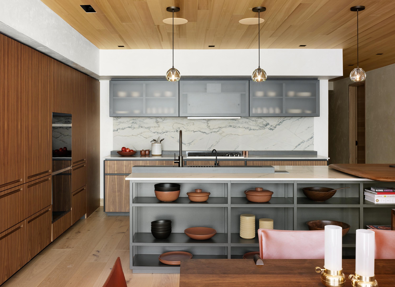 Newberry Suite Kitchen at Caldera House