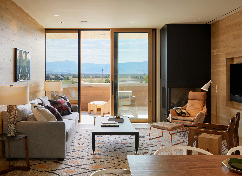 Socorro two bedroom suite living area