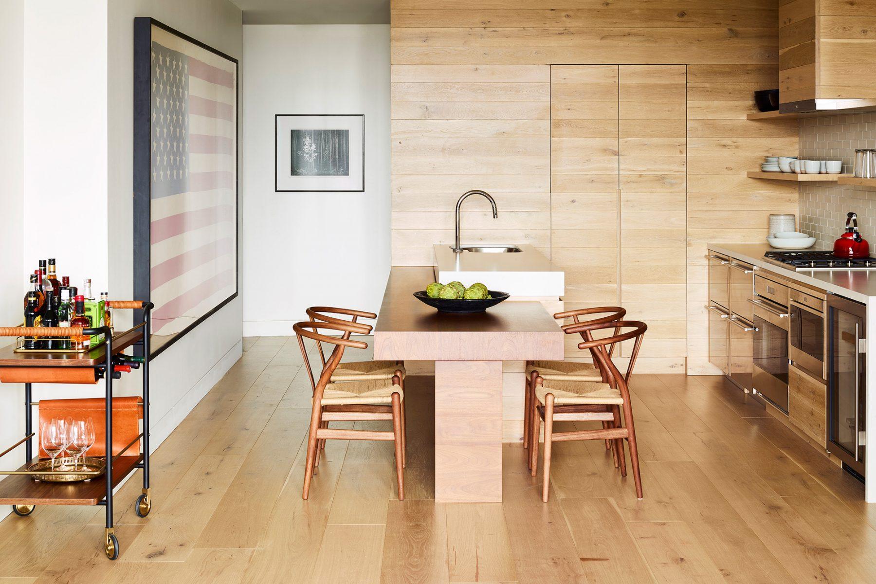 two bedroom Karikari suite kitchen