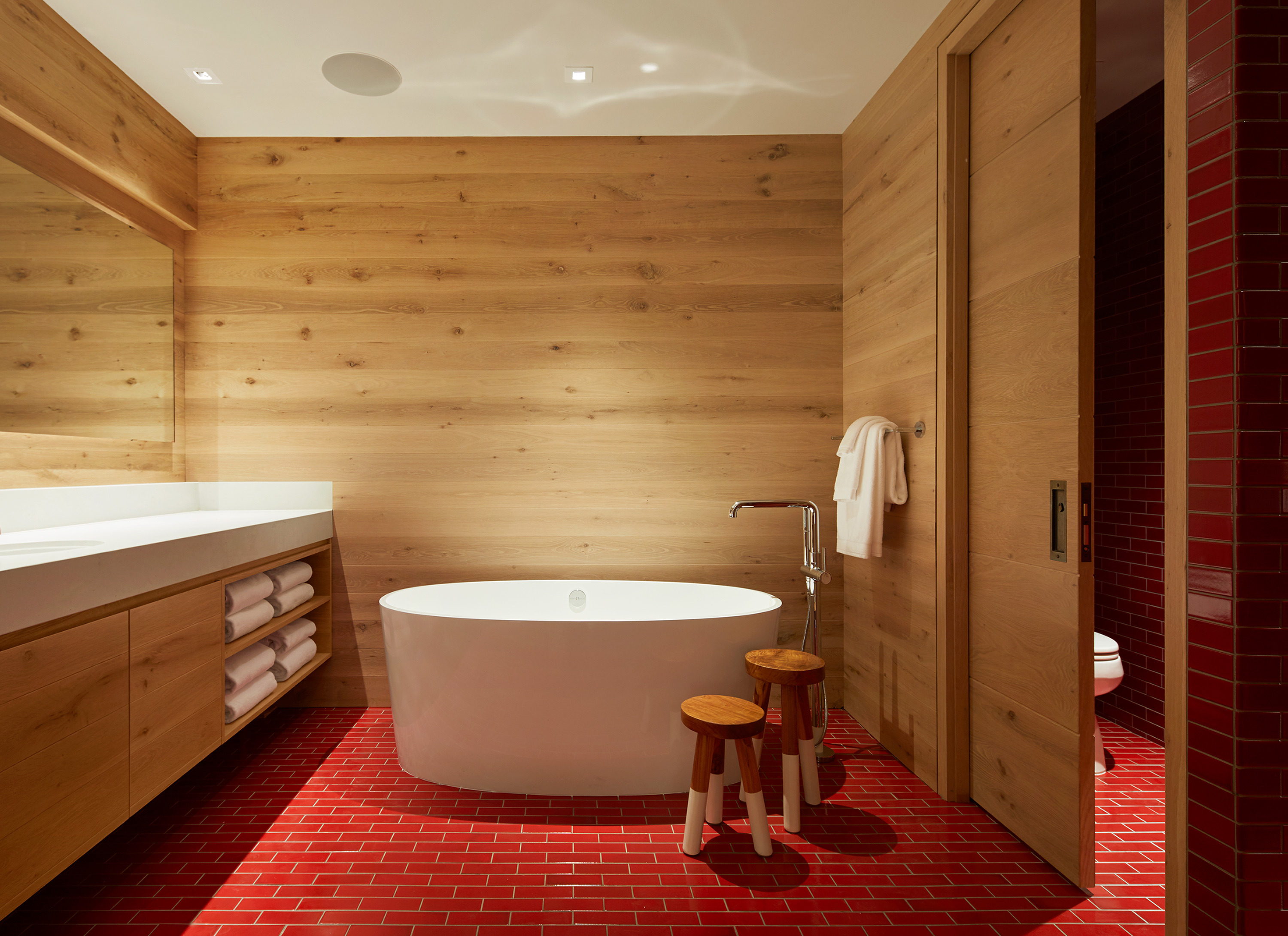 two bedroom suite - bathtub