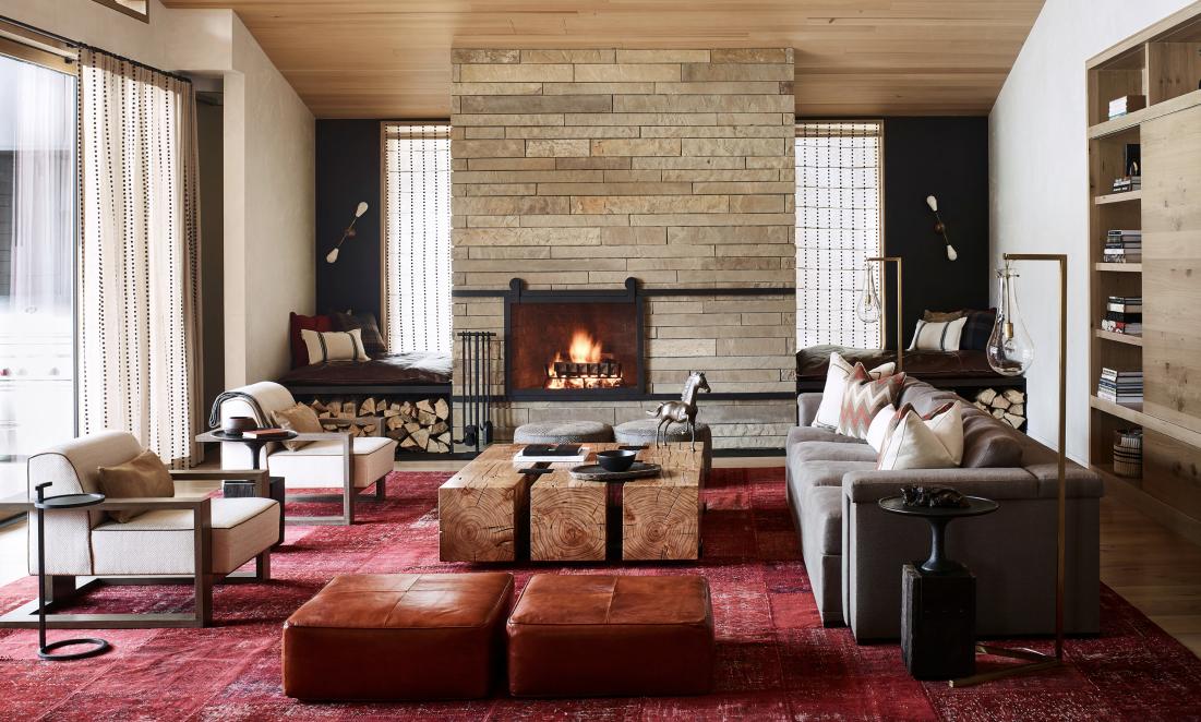 Valles suite living area - Caldera House